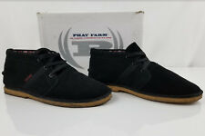 Mens Phat Farm Black Chukka Moccasin Hommes Styled Casual Shoes  Size 13