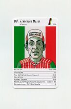 #JB336 FRANCESCO MOSER ITA Scarce RADSPORT Cycling Card RARE