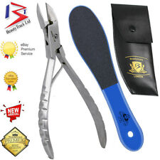 German Toe Nail Clippers Cutters Nippers - Chiropody Heavy Duty Thick Nails Tool