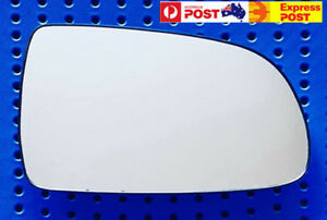 Right mirror glass to suit HOLDEN BARINA TK HATCH 07/2008-09/2011 Heated w Base