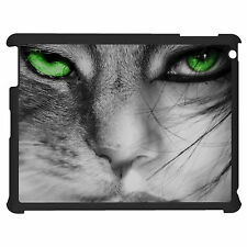 Cat Face With Green Eye Tablet Case Cover For Apple Google Samsung