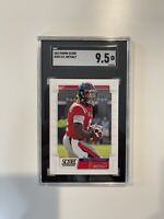 2019 PANINI SCORE ROOKIE D.K. METCALF RC SGC 9.5 RC Newly Graded