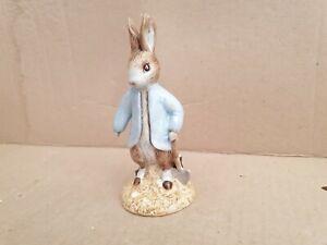 Beswick Peter Rabbit Digging BP11a Beatrix Potter 2001-2002 Mint+ Boxed.