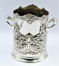 Atkins Brothers Antique Silver Plate Wine Cooler Champagne Bucket Stunning