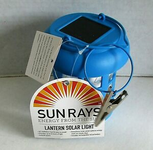 """LANTERN SOLAR LIGHT ASSORTMENT """"No Wiring"""" Up To 8 Hours of Light  [Your Choice]"""