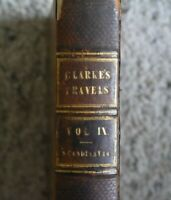 Clarke's Travels in Various Countries Vol.IX 1824 Rare Book with Full Maps