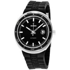 Rado D-Star Black Dial Silicone Strap Men's Watch R15959159