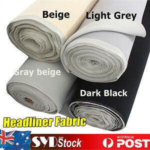 Automotive Headliner Fabric Materials Replacement Caravan Camper Dome Roof Liner