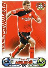 184 Daniel Schwaab - Bayer Leverkusen - TOPPS Match Attax 2009/2010