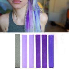 Best Lilac Ombre Hair Dye Set of 6 | DIY LAVENDER Hair Chalk Home Kit