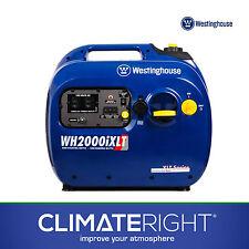 Westinghouse WH2000iXLT Inverter Gas Generator | 2000W 120V 12V DC | Light Quiet