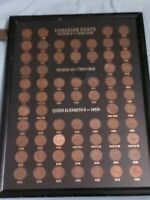 ➡➡ RARE Canada 1 Cent Coin Collection. 1920-1979. Incl rare 1922-27, 65 subtypes