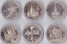 6 x  1 Rubel aus Russland
