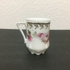 Antique Hermann Ohme Carmen Hot Chocolate Cup Daisy Floral Porcelain