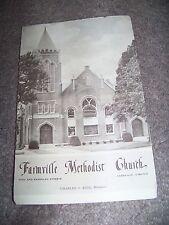 1956 Farmville Virginia Methodist Church Charles O. Kidd J. E. Walmsley