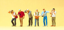 "Preiser 10545 H0 Figurines ""Fans de train"" #neuf emballage d'origine##"