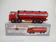Atlas No.943 Dinky Leyland Octopus Esso Tanker unopened mint/boxed + Dinky Badge