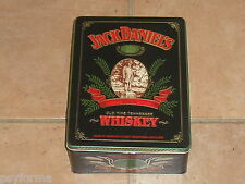 RARE Boite métallique Whisky Jack Daniel's / RAR whiskey Tin from France