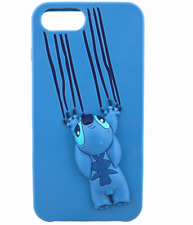 Disney Park D-Tech iPhone 6S+ 7+ 8+ Plus Case✿ Stitch 3D iPhone Silicone Case