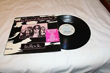 The Rose of Avalanche LP with Company Sticker-IN ROCK