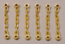 6x Lego Chains Chain Pearl Gold for Minifig Ninjago Star wars