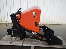 Ditch Witch Dump Bucket Hopper Attachment For Zahn R-300 Tractor