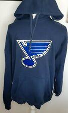 Vintage Lee Sport St. Louis Blues Navy Blue Crew Sweatshirt Large NHL Sewn Logo