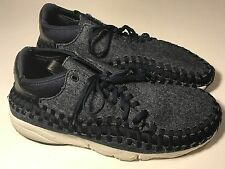 Nike Air Footscape Woven Chukka SE Obsidian (857874-400) Men Shoes Size 13, EUC