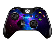 Skin Decal for Microsoft XBox One / One S Controller / Galaxy Space Blue Purple
