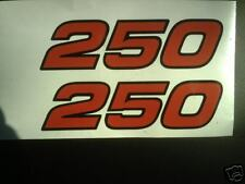 Yamaha TY 250 Trials mono side panel decals