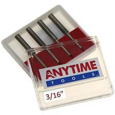 "New listing Anytime Tools 3/16"" Diamond Chainsaw Sharpener Burr 1/8"" Shank, 4 Pack"