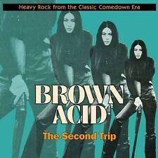 Brown Acid: The Second Trip LP -Black Vinyl Riding Easy Heavy Rock Compilation