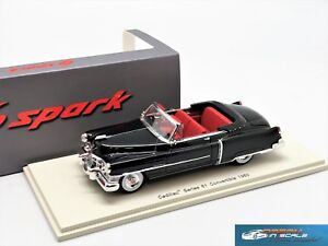 Cadillac Series 61 Convertible 1950 Black Spark S2922 1:43