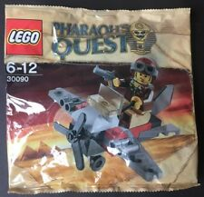 LEGO Pharaoh's Quest Set 30090 Polybag Desert Glider Pilot New Sealed Minifigure