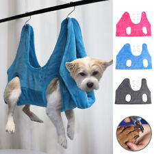 Pet Hammock Helper Dog Cat Grooming Hang Hammock Restraint Bag for Nail Trimming