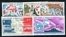 ST PIERRE et MIQUELON 1967 418-422 ** POSTFRISCH JAHRGANG KOMPLETT 110€(F4047