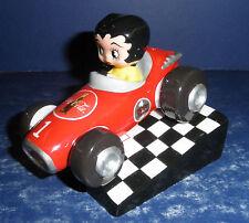 Vandor Betty Boop Coca-Cola Pace Car Shakers- New in Box- #11331
