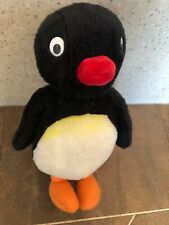 "VINTAGE PINGU PENGUIN PLUSH SOFT TOY 10"" TALL BY GOLDEN BEAR 1996 OFFICIAL"