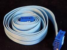 "Berg 9 Pin Ribbon cable 36"" long w/ 2 female connectors 65948 810 13-81 Nice!"