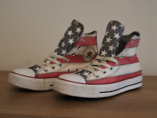 Converse All Star - American Stars & Stripes - High-Top Trainers - UK Size 5