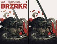 BRZRKR 1 EXCLUSIVE QISTINA KHALIDAH VIRGIN & TRADE VARIANT ONLY 250 NM+ copies
