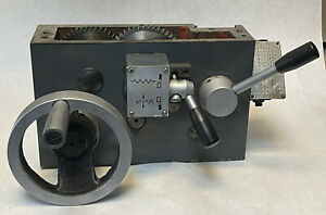 WHITWORTH LATHE CARRIAGE / SADDLE -AS IS-FOR PARTS (F16)