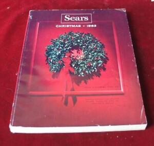 Vintage 1963 Sears Roebuck & Company Wishbook Christmas Catalog