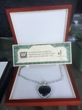 Titanic Heart Of The Ocean Necklace Replica By J. Peterman For 20th Century Fox
