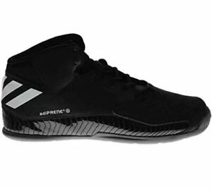 Adidas Men's Next Level V Speed Black Basketball Style HI TOP Trainers Size 6/39