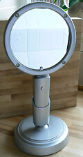 Simply Beauty Convertible standing & Hand Held LED Lighted Vanity Mirror silver