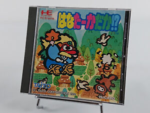Hana Taka Daka Super Long Nose Goblin Nec PC Engine HuCard import jap