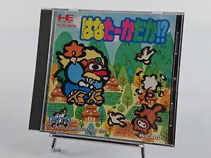 Hana Taka Daka Super Long Nose Goblin Nec PC Engine HuCard import jap