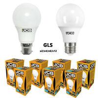 JCB LED GLS Bulbs 6w = 40w 10w = 60w 15w = 100W Warm. Cool, Daylight ES BC Screw
