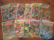 Full Conan The Barbarian Run 1-10 Plus Creatures On The Loose 10 1st Kull Strict